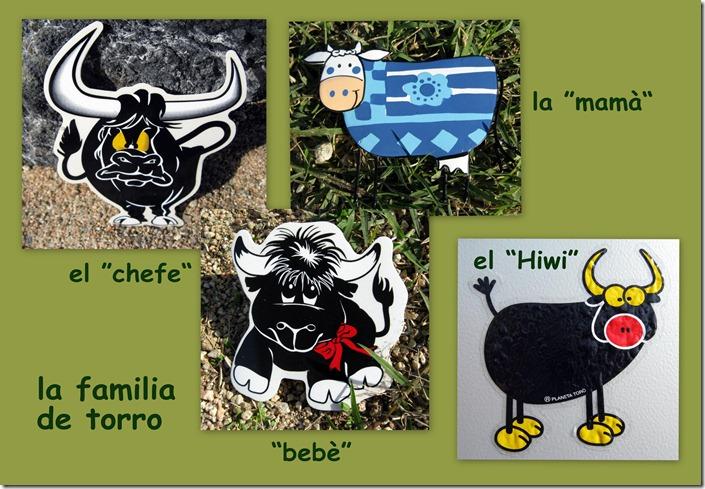 la familia de torro