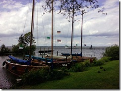Holz-Segelboote