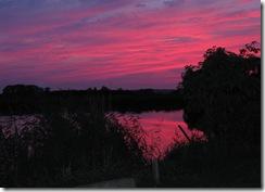 Sonnenuntergang an der Oste (5)