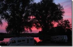 Sonnenuntergang an der Oste (7)