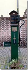 Pumpe der römischen Wasserleitung