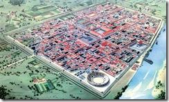 Römische Stadt (Modell)