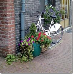 Stilleben mit Fahrrad
