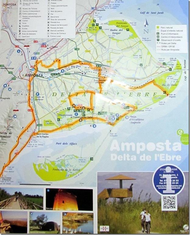 unsere Route (orange markiert)