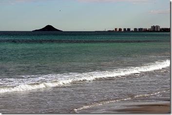 Blick auf die Isla Grosa