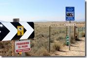Stellplatz 'Rancho Buena Vista' (Zufahrt)