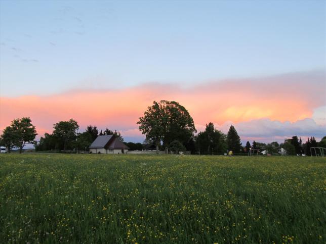 Spiegelung des Sonnenuntergangs (1)