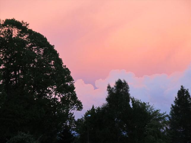 Spiegelung des Sonnenuntergangs (3)