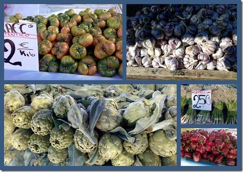 Markt in Oropesa