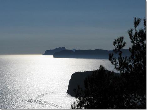 Cabo de San Antoni + Cabo de la Nao im Gegenlicht