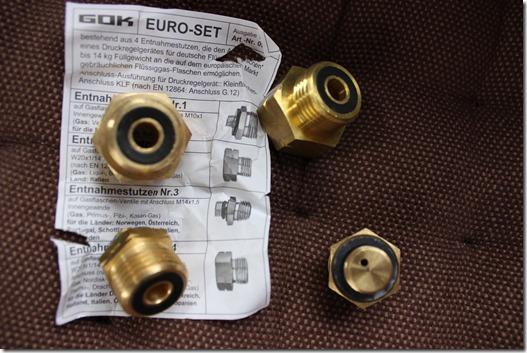 Euro-Set mit 4 Adaptern