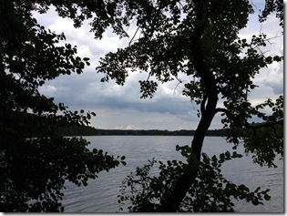 Blick auf den Sacrower See