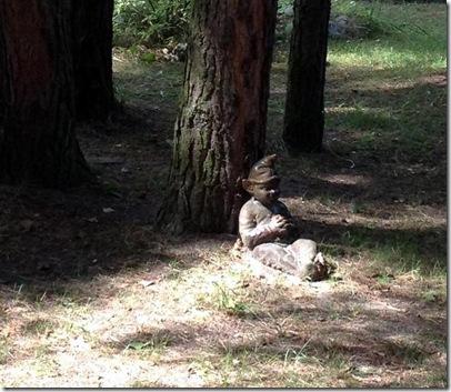 ein Zwerglein saß im Walde...