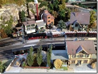 Stein-Brauerei mit Bahnhof