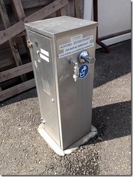 Wasserspender für Kleinmengen