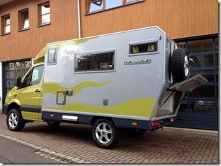 EX 366 auf Mercedes Sprinter Allrad