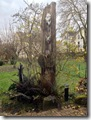 """""""Totempfahl"""" im Garten"""
