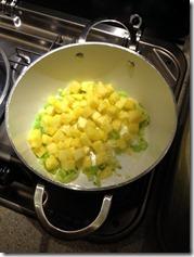 Ananasstücke und