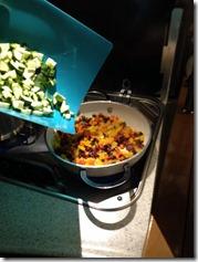Zucchini dazu