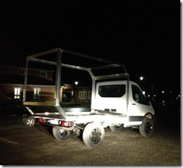 Fernreisemobil im Bau