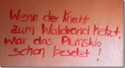 Klo-Sprüche ;-)