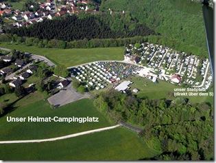 """Campingplatz """"Hirtenteich"""" mit Heinkel-Treffen 2008"""