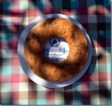 Stratiatella-Kuchen
