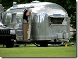 Airstream auf KOA-Campingplatz in Winthrop, WA