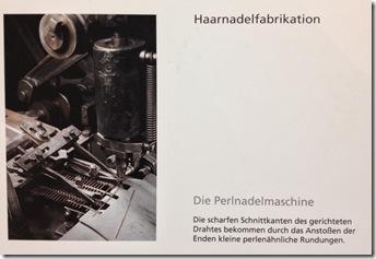 Haarnadelfabrikation