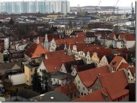 Wismar von oben