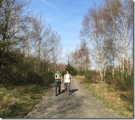 Norma und Uschi wandern