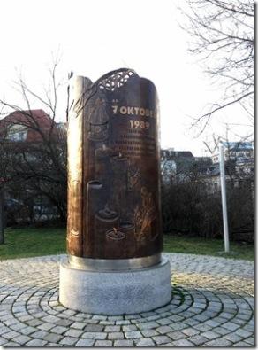 Denkmal der friedlichen Demonstrationen 1989
