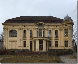 verlassene Prunkvilla