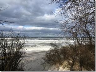 aufgewühlte Ostsee