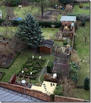 Garten von oben letztes Jahr