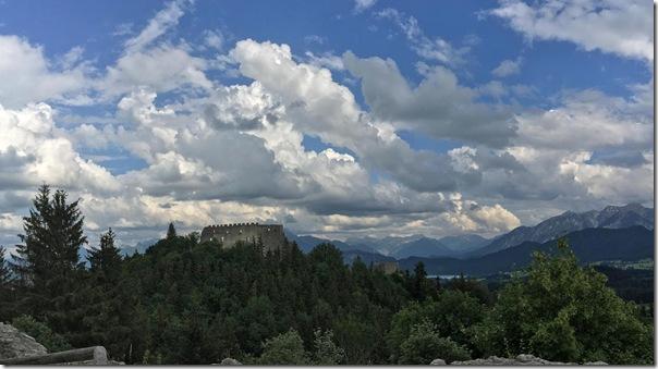 Blick zur Burg Eisenberg