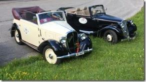 Oldtimertreffen (Fiat Balilla + Citroen)