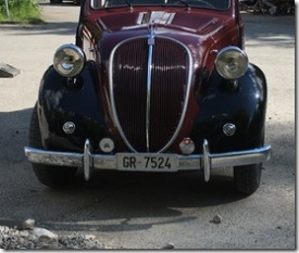 Oldtimertreffen (Fiat 500 Topolino)