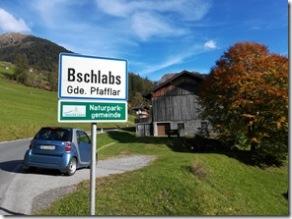 Ausflug nach Bschlabs