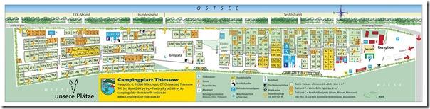 Lageplan - Campingplatz Thiessow