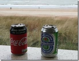 schlemmen am Strand
