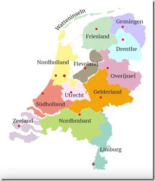 Provinzen Niederlande