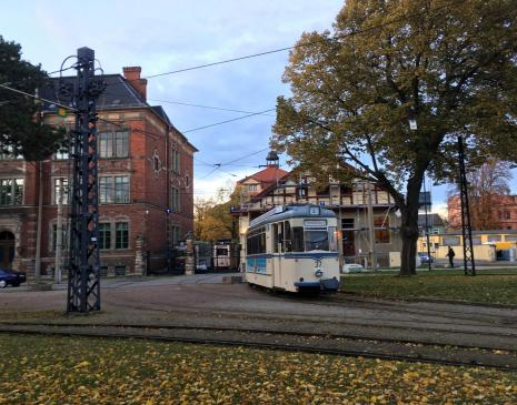 Straßenbahndepot