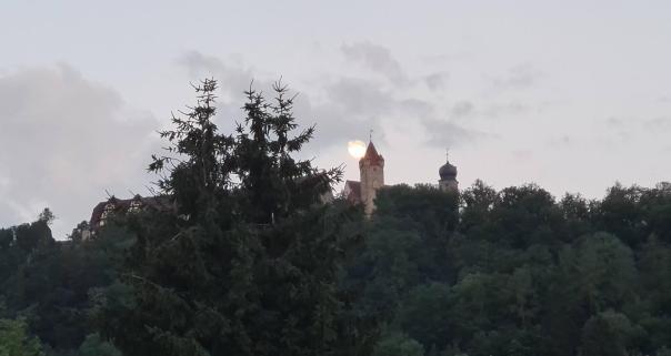Mond um 22 Uhr