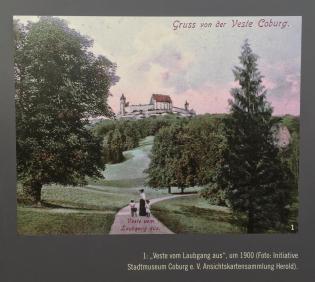 Hofgarten und Veste