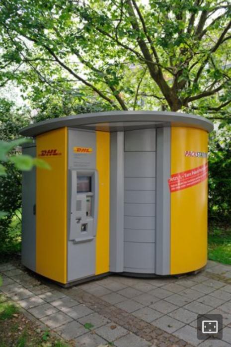 kleine Packstation